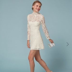 Reformation lace dress